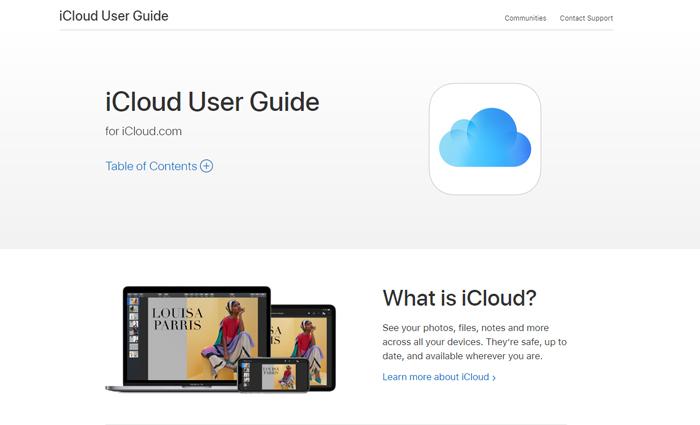ICloud за изпращане на големи файлове