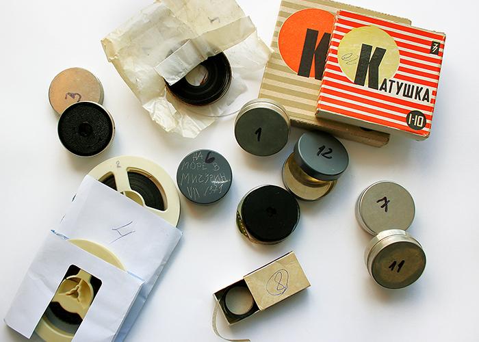 Прехвърляне на записи от киноленти