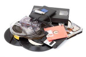 Прехвърляне нз записи върху флаш памет