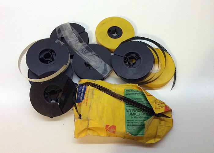 Подготовка на киноленти за прехвърляне в цифров формат